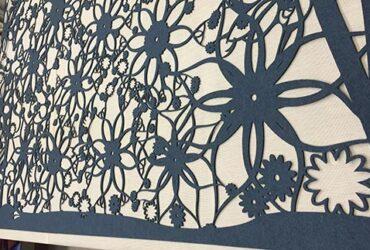Hanging Panel Single, Hawaii Pattern