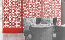 laser-felt-hanging-panels-red