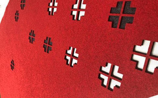 laser-felt-ecofelt-hanging-panels-red